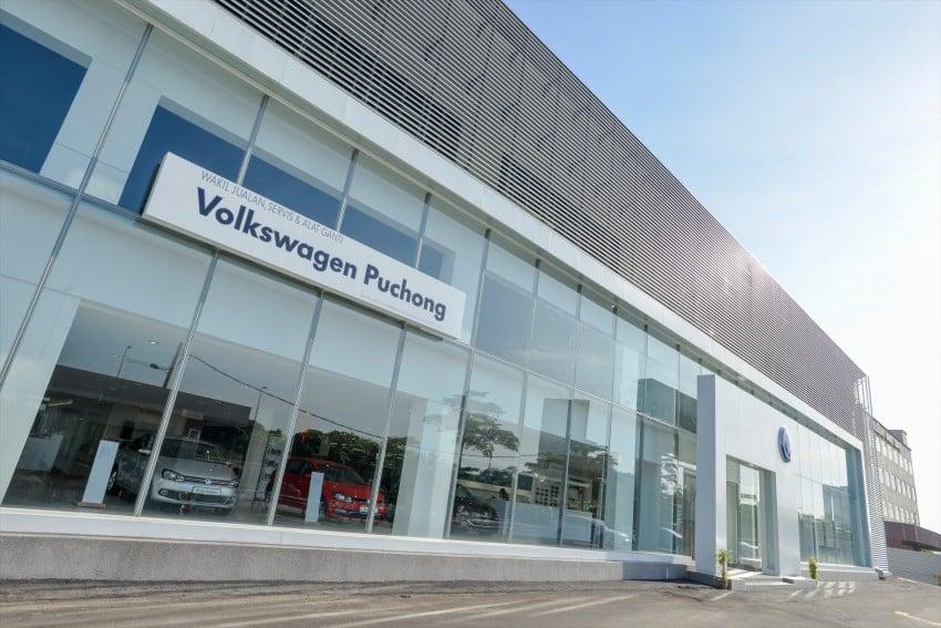 Volkswagen buka Pusat Servis Teknikal ketiga, merupakan bilik pameran VW terbesar di Malaysia Image #437510