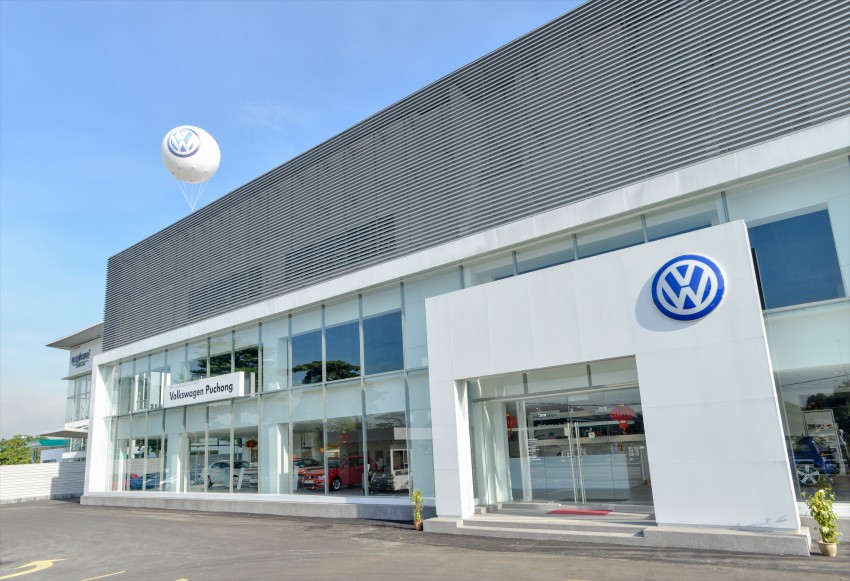Volkswagen opens third Technical Service Centre, featuring Malaysia's largest VW showroom Image #437370