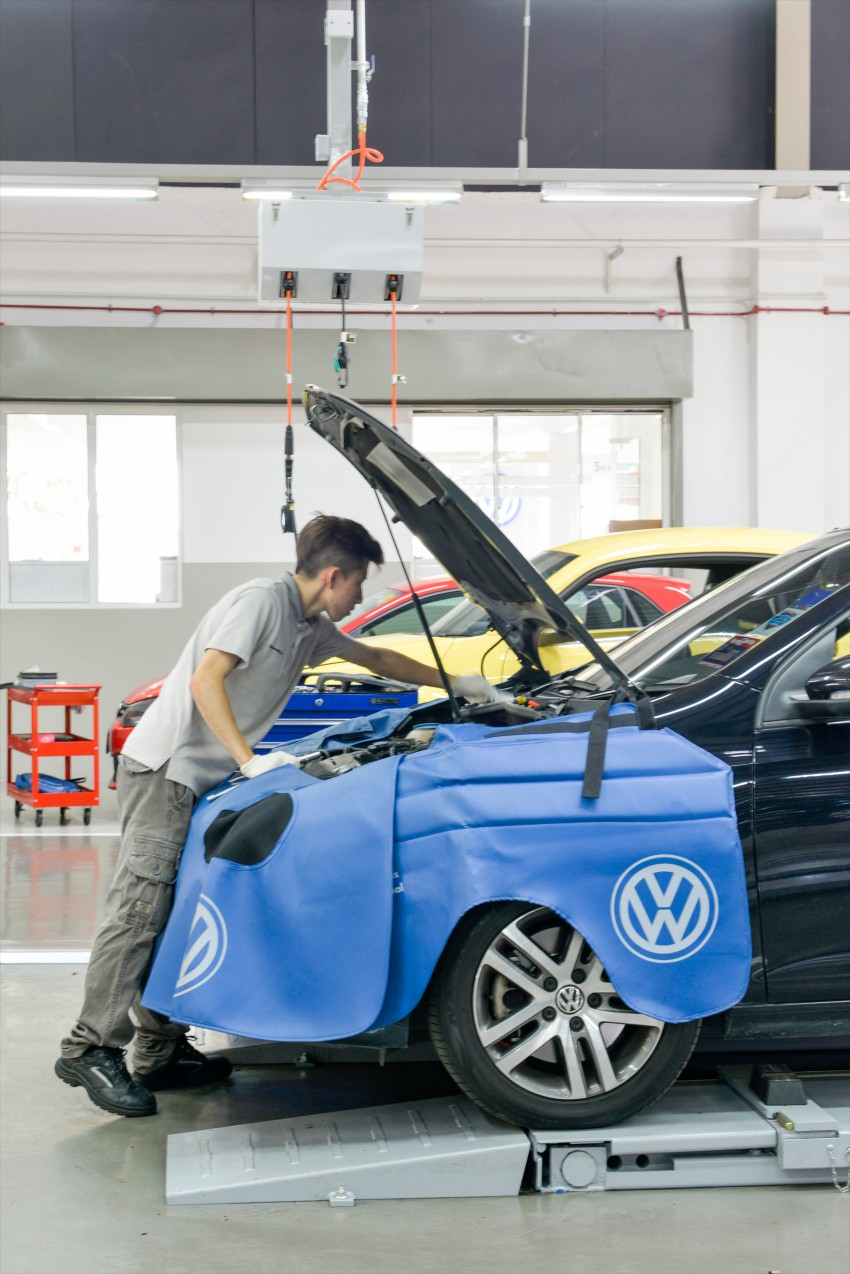 Volkswagen buka Pusat Servis Teknikal ketiga, merupakan bilik pameran VW terbesar di Malaysia Image #437516