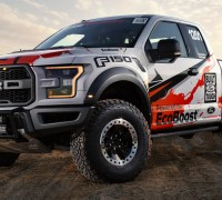 All-new 2017 F-150 Raptor race truck continues Ford's tradition of demonstrating the toughness and durability of F-150 through off-road competition.