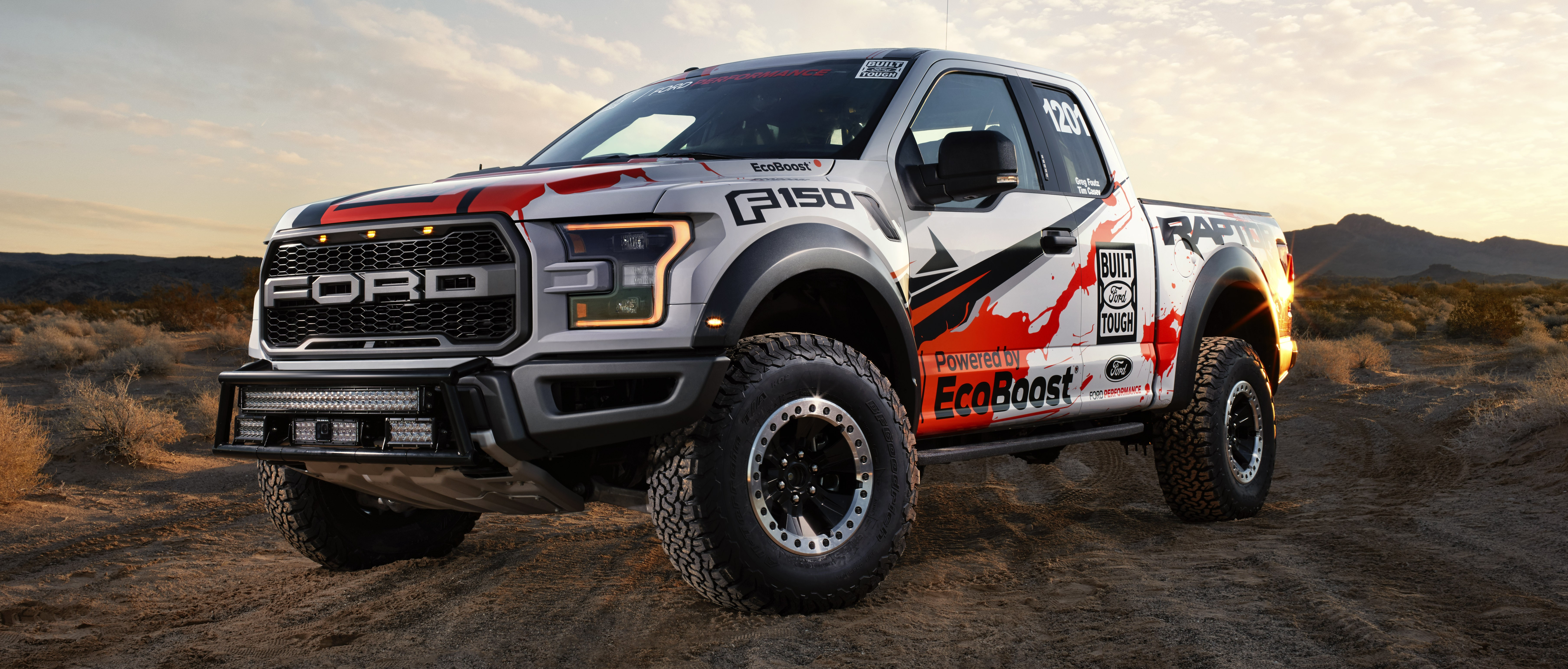 Ford F-150 Raptor For Sale >> 2017 Ford F-150 Raptor to compete in off-road racing