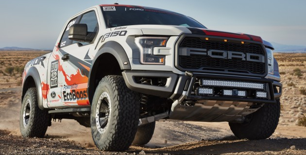 All New 2017 F 150 Raptor Race Truck Continues Fords Tradition Of Demonstrating The