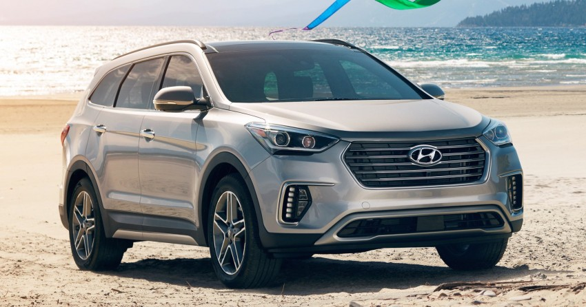 2017 Hyundai Sante Fe and Sante Fe Sport for the US Image #440264