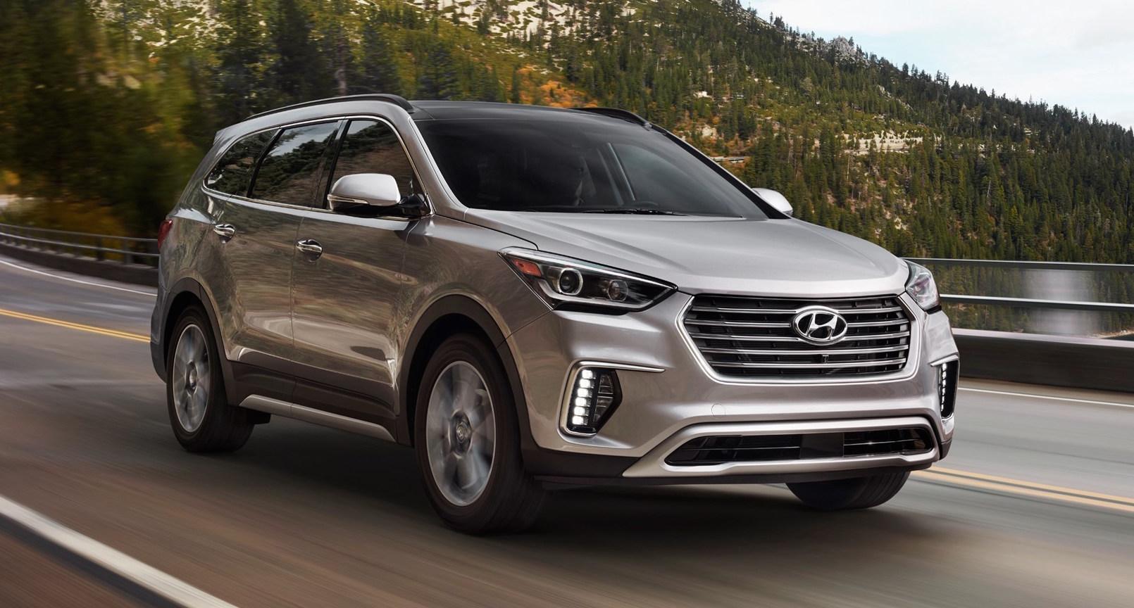 2016 Hyundai Santa Fe >> 2017 Hyundai Sante Fe and Sante Fe Sport for the US Image 440265