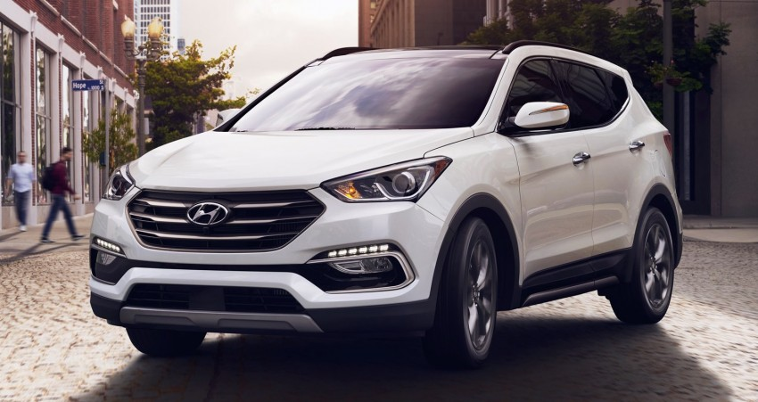 2017 Hyundai Sante Fe and Sante Fe Sport for the US Image #440280