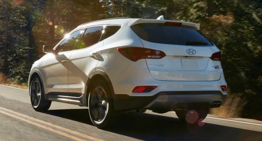 2017 Hyundai Sante Fe and Sante Fe Sport for the US Image #440275