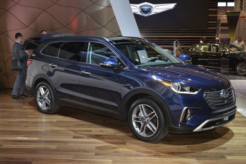 2017 Hyundai Sante Fe and Sante Fe Sport for the US Image #440678