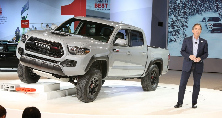 2017 Toyota Tacoma TRD Pro – tougher look and feel Image ...