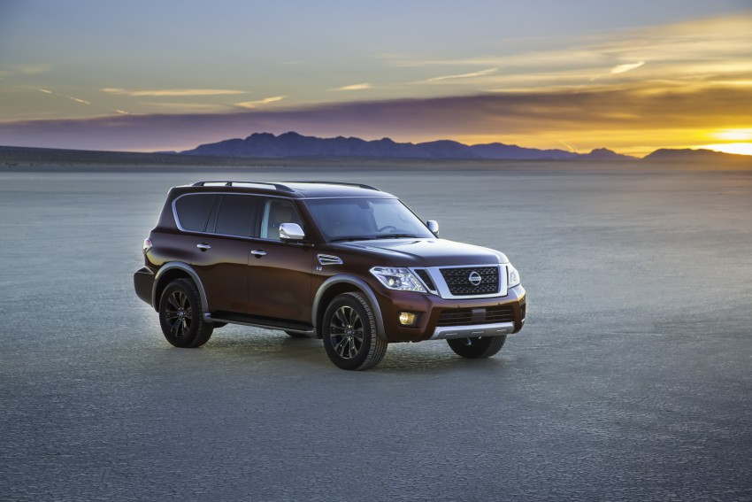 2017 Nissan Armada to debut at Chicago Auto show Image #439705