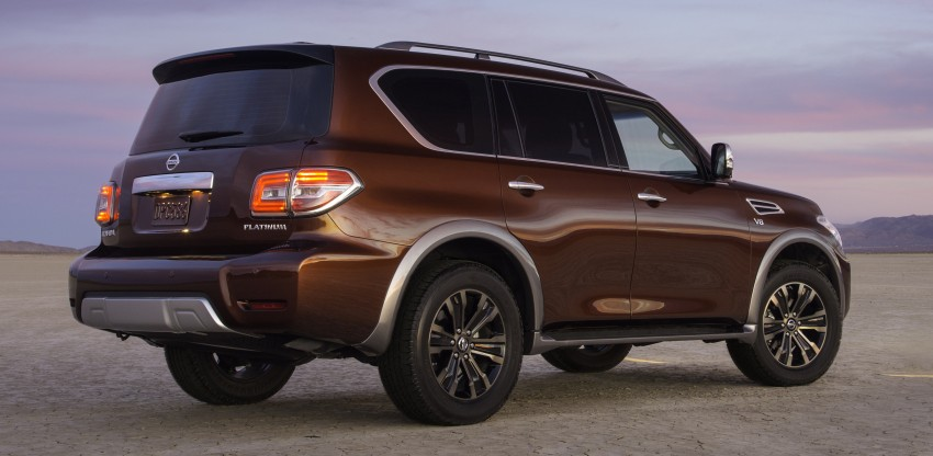 2017 Nissan Armada to debut at Chicago Auto show Image #439706