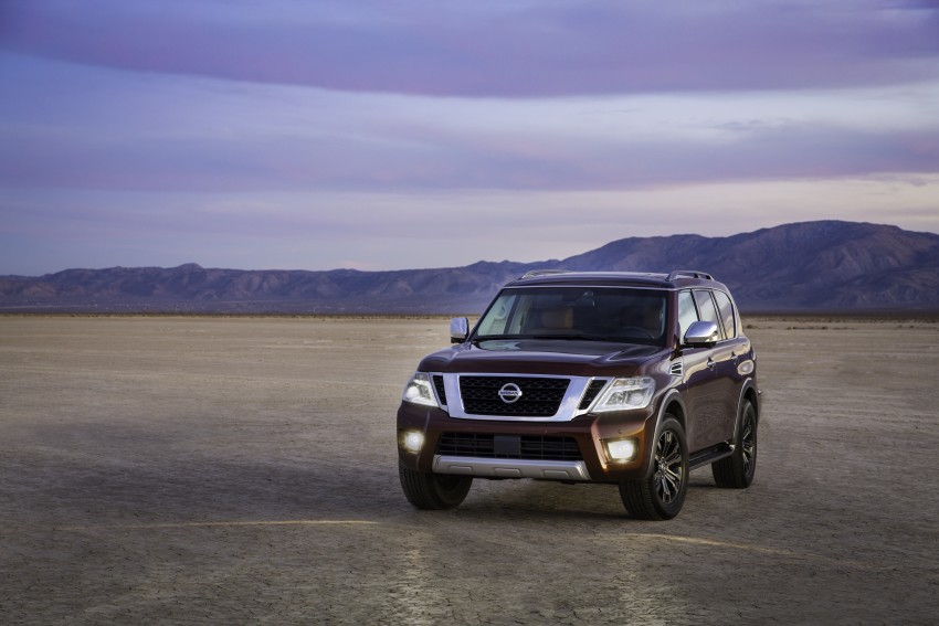 2017 Nissan Armada to debut at Chicago Auto show Image #439707