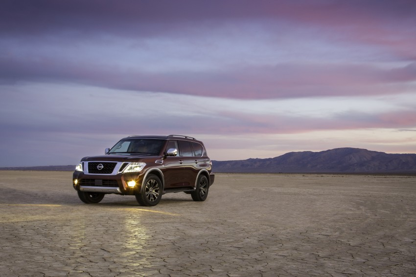 2017 Nissan Armada to debut at Chicago Auto show Image #439708