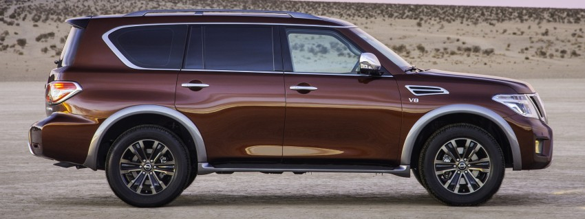 2017 Nissan Armada to debut at Chicago Auto show Image #439709