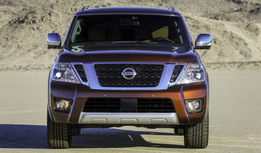 2017 Nissan Armada to debut at Chicago Auto show Image #439710