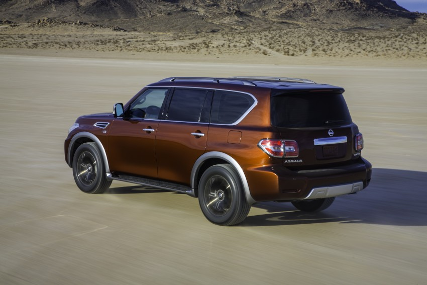 2017 Nissan Armada to debut at Chicago Auto show Image #439711
