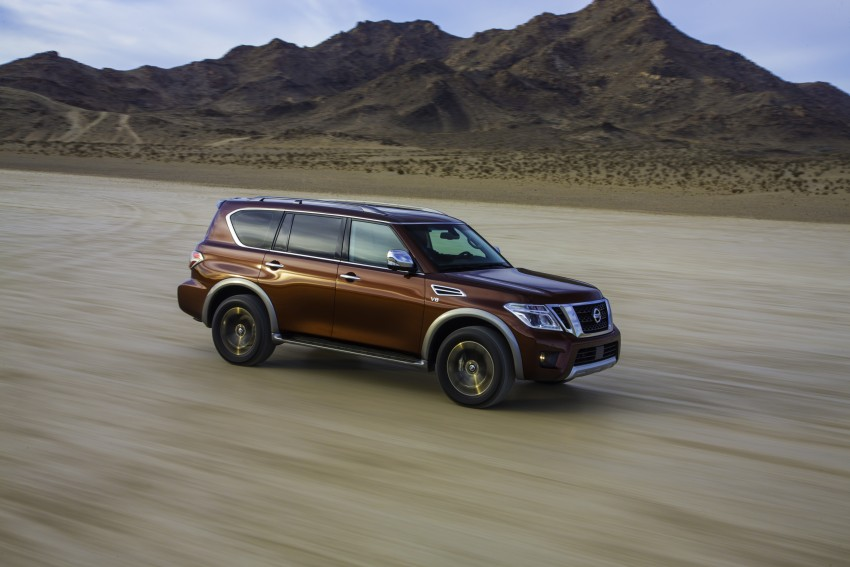 2017 Nissan Armada to debut at Chicago Auto show Image #439712