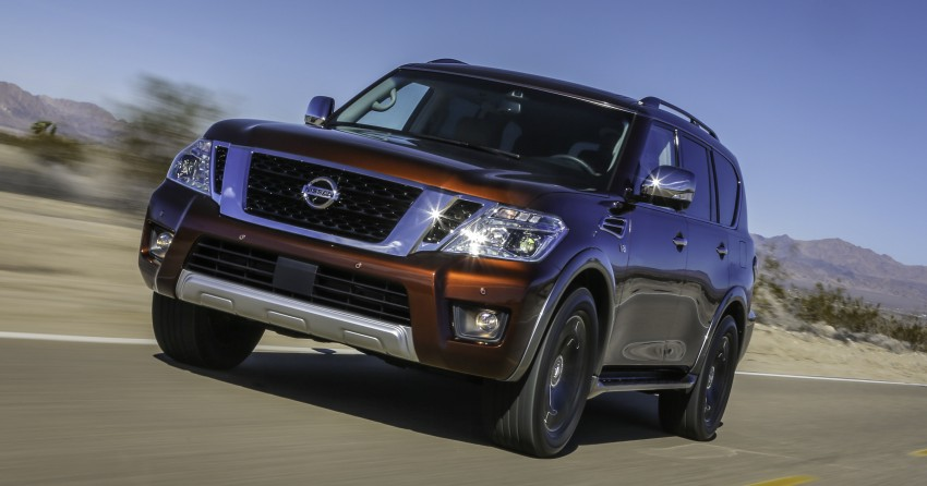2017 Nissan Armada to debut at Chicago Auto show Image #439713