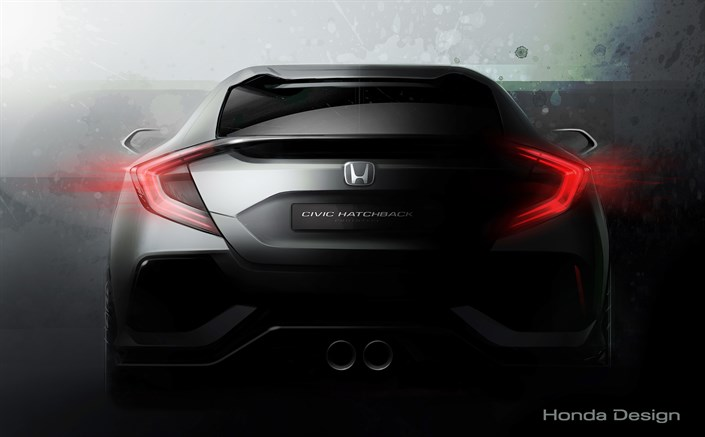 Honda Civic Hatchback Prototype set to debut in Geneva; Clarity Fuel Cell to make European debut Image #439472
