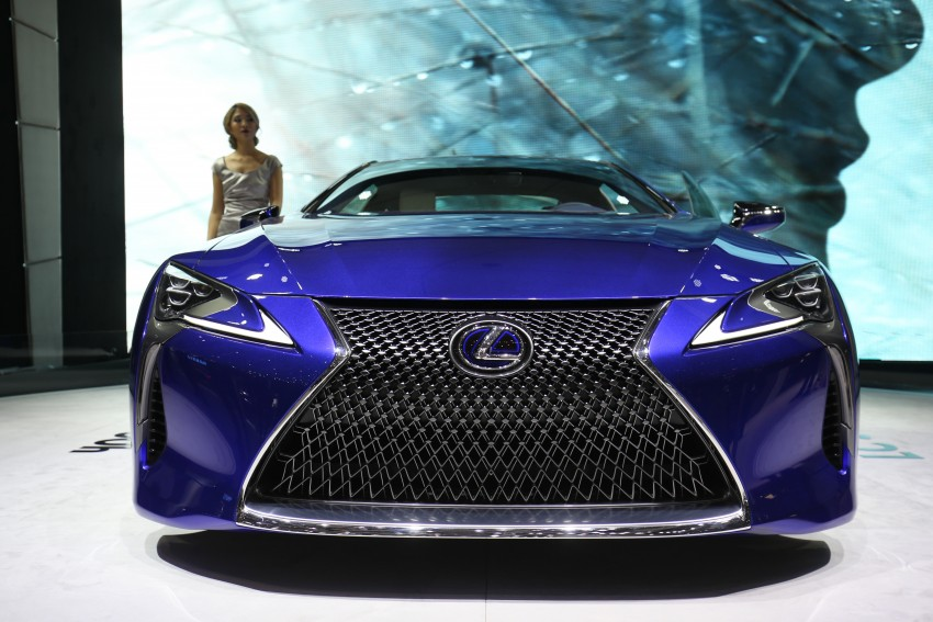 GALLERY: Lexus LC 500h gets more studio images Image #454438
