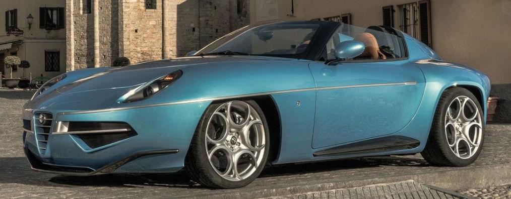 Alfa Romeo Disco Volante For Sale >> Alfa Romeo Disco Volante Spider - a topless beauty