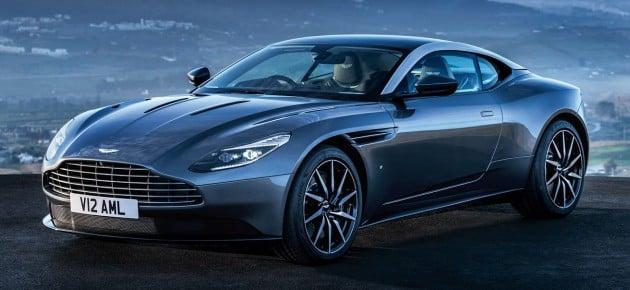 Aston Martin DB11 leak 1