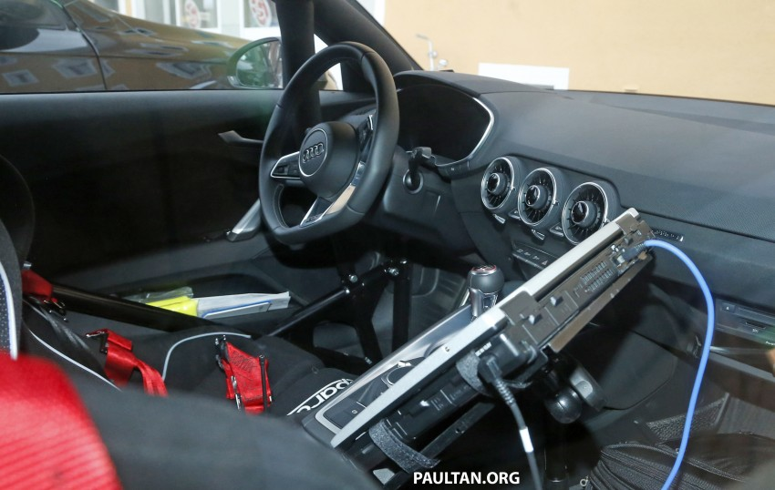 SPIED: 2016 Audi TT RS with a manual shifter spotted! Image #440024