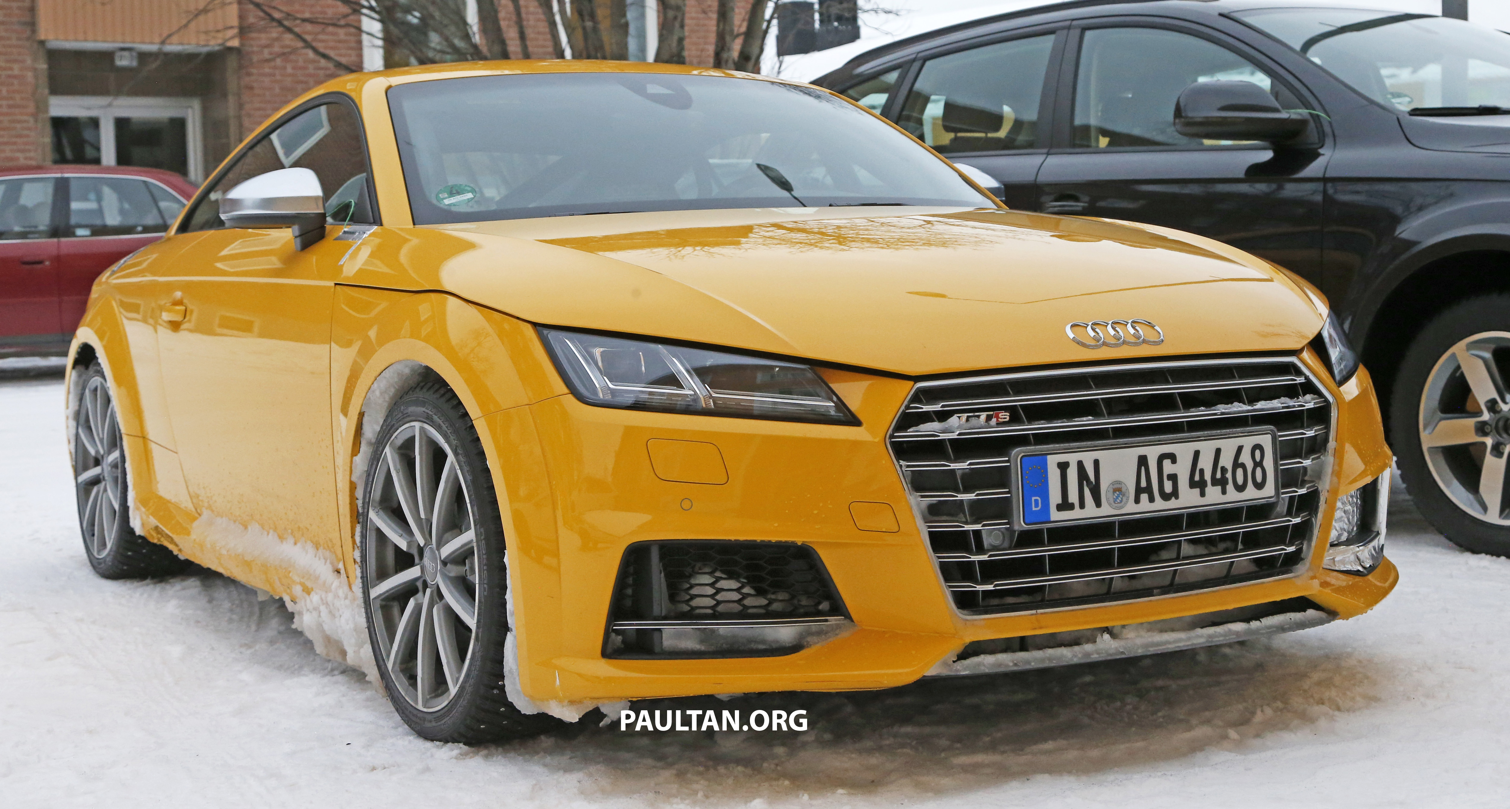 Spied 2016 Audi Tt Rs With A Manual Shifter Spotted Paul