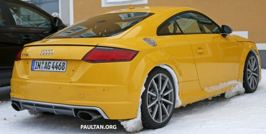 SPIED: 2016 Audi TT RS with a manual shifter spotted! Image #440022