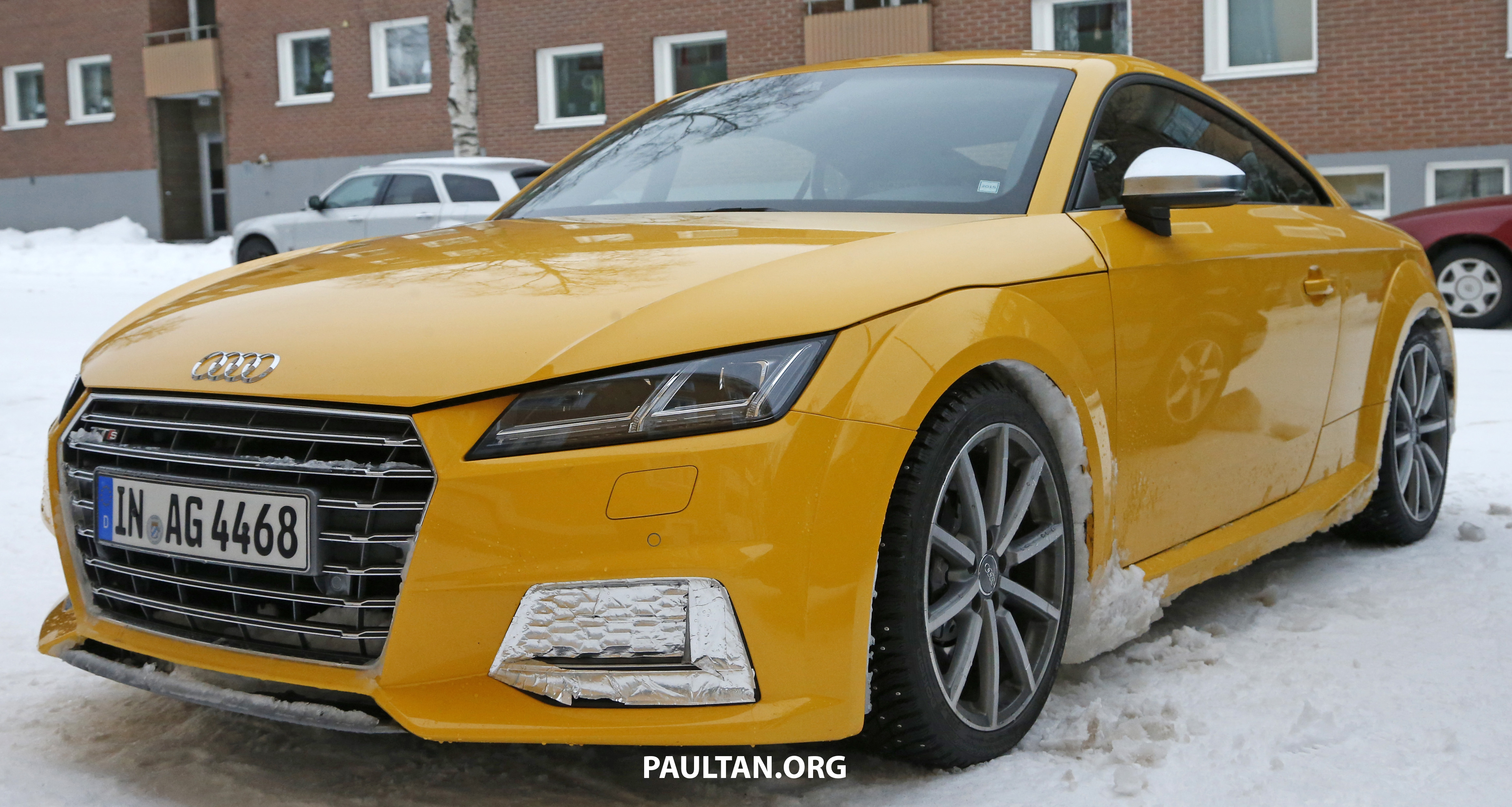 spied 2016 audi tt rs with a manual shifter spotted. Black Bedroom Furniture Sets. Home Design Ideas