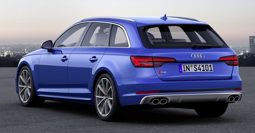 B9 Audi S4 Avant revealed – 354 hp, 500 Nm estate Image #447425