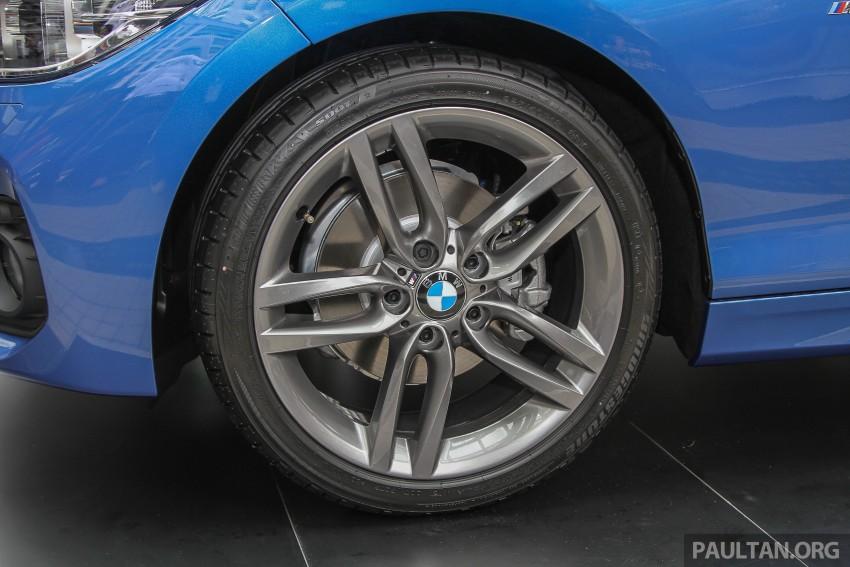 BMW Malaysia terima Insentif Status EEV untuk 1 Series dan 3 Series – harga turun sehingga 8% Image #448525