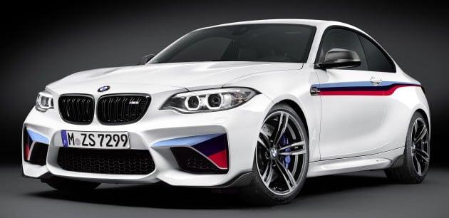 BMW M2 Coupe M Performance Parts 1