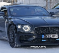 Bentley Continental GT spyshot 2