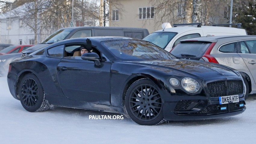 Spyshots Next Gen Bentley Continental Gt Spotted Paul Tan