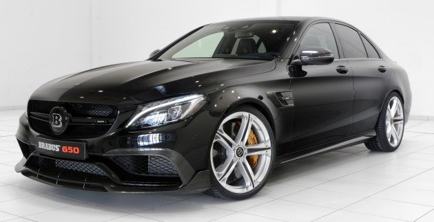 Mercedes-AMG C63 S gets updated Brabus kit - 650 hp, 820 Nm