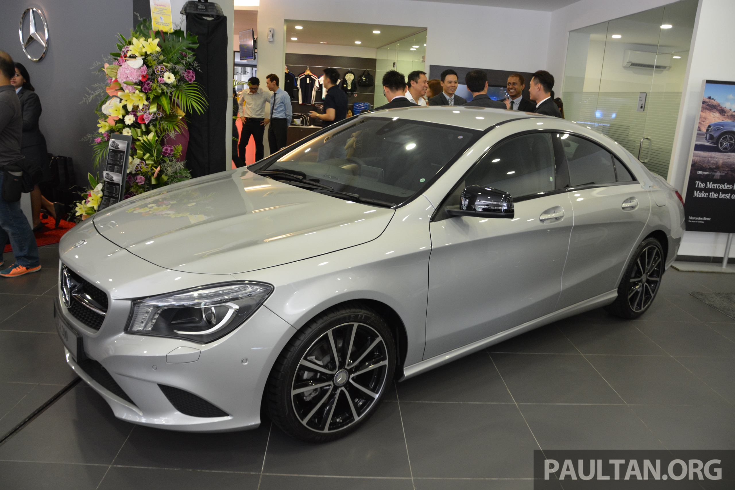 Mercedes benz malaysia and cycle carriage bintang unveil for Mercedes benz georgetown