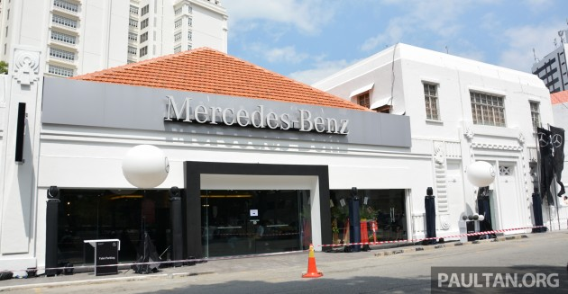 Mercedes benz malaysia and cycle carriage bintang unveil for Mercedes benz of georgetown