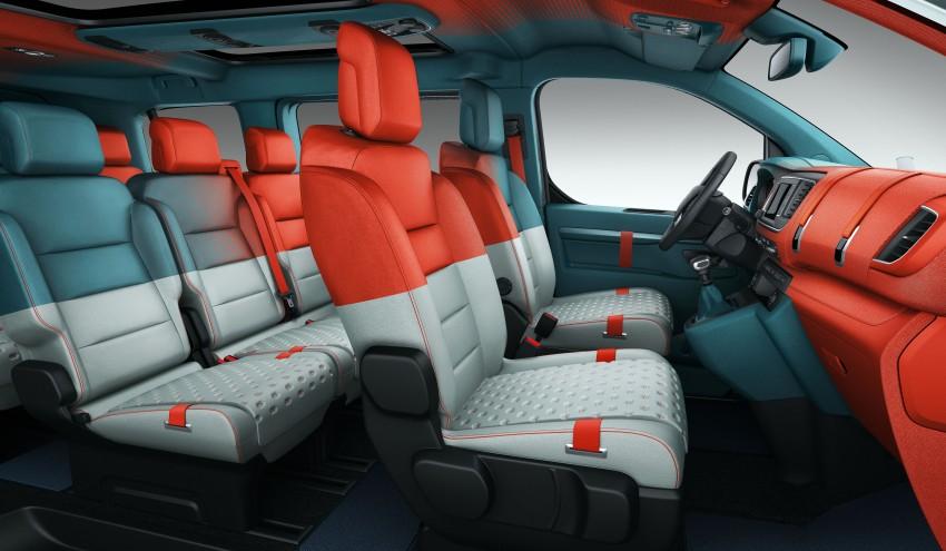 Citroen SpaceTourer Hyphen – pop music partymobile Image #438919
