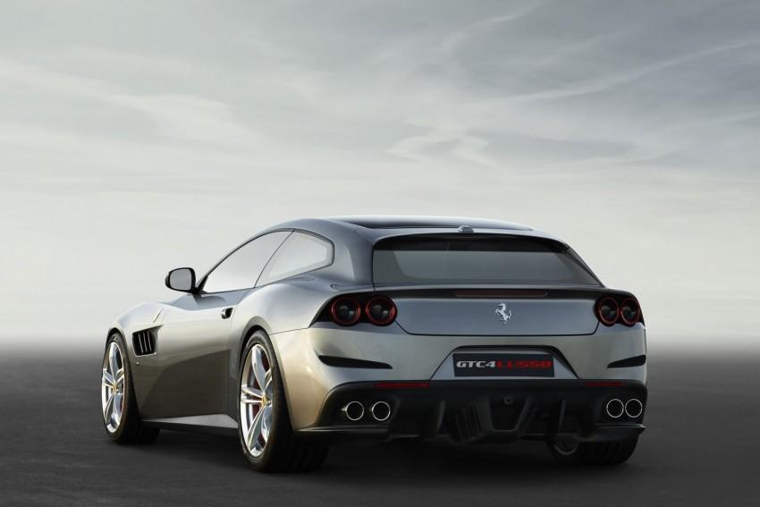 Ferrari GTC4 Lusso pengganti FF – kuasa 680 hp Image #439441