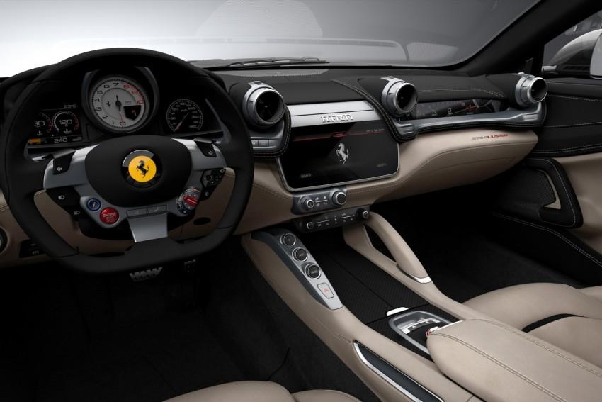 Ferrari GTC4 Lusso pengganti FF – kuasa 680 hp Image #439447