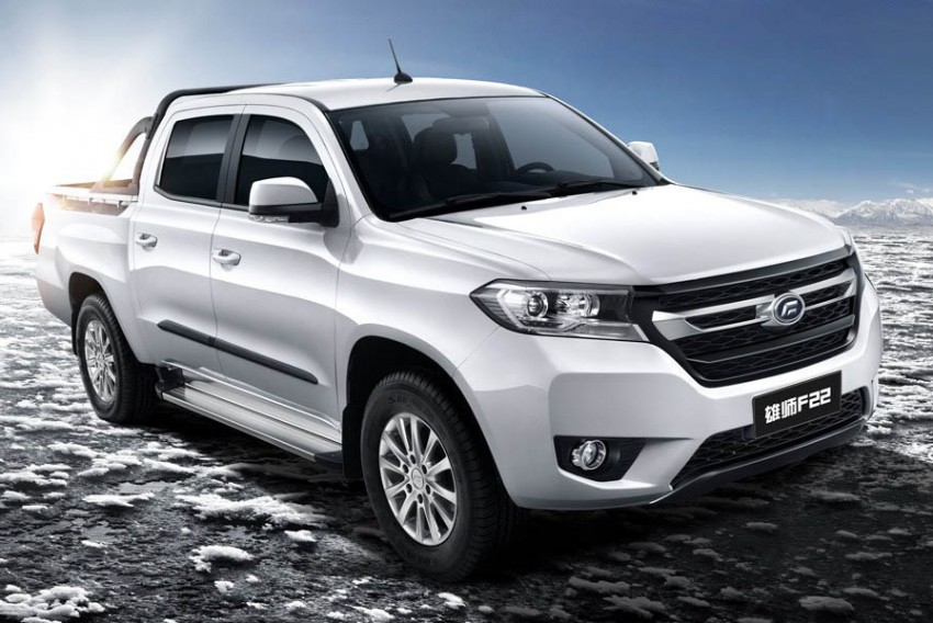New Malaysian brand SAF to launch April – Striker pick-up and Landfort SUV based on Foday models Image #450923