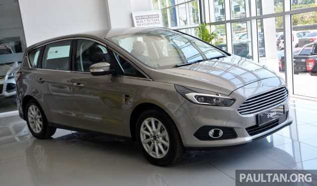 Ford S-Max 2nd gen MY-30