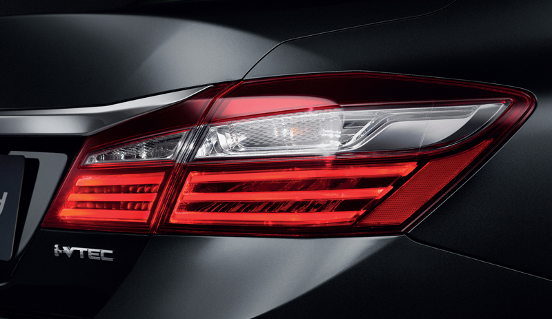 2016 Honda Accord facelift launched in Thailand Image #443596