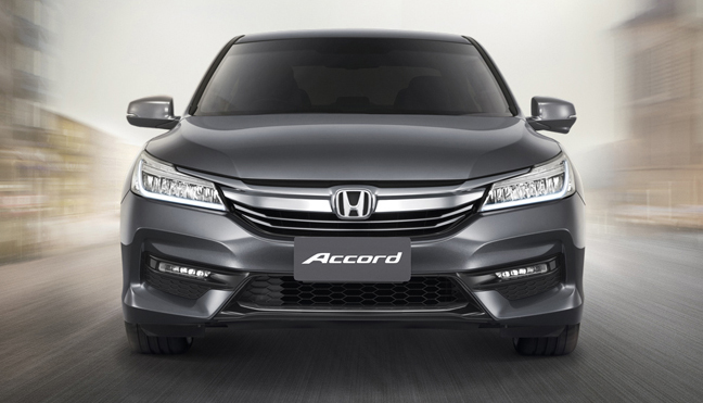 2016 Honda Accord facelift launched in Thailand Image #443602