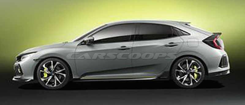 Back to Story: Honda Civic Hatchback Prototype leaked – first pics