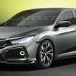 Honda Civic Hatchback Prototype leak 2