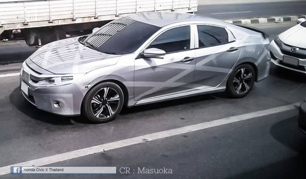 Honda-Civic-tenth-gen-spied-Thailand-1-e1455517510895_BM