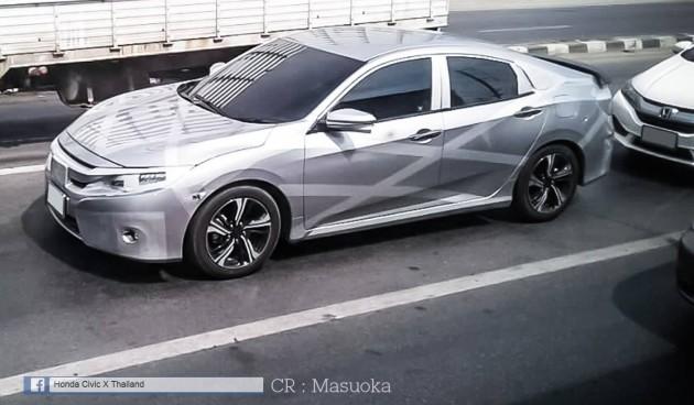 Honda-Civic-tenth-gen-spied-Thailand-1-e1455517510895_BM