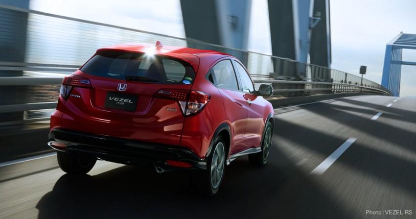 Honda HR-V RS announced for Japanese market Image #439565