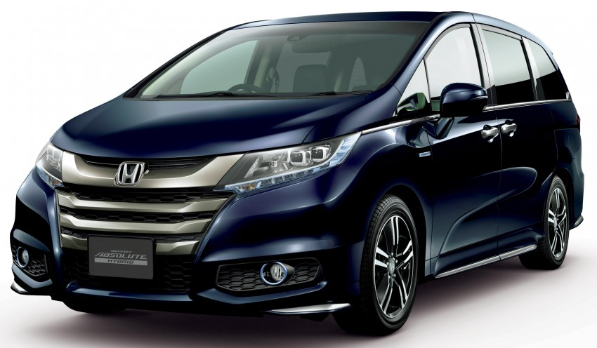 Honda Odyssey Hybrid/refresh goes on sale in Japan Image #438324